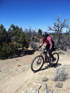 Spring 2013 on the Gallup High Desert Trails- Jeanne